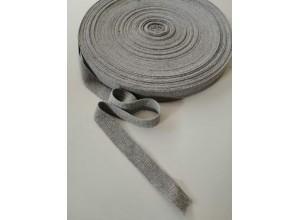 Киперная лента Серый меланж 20 мм