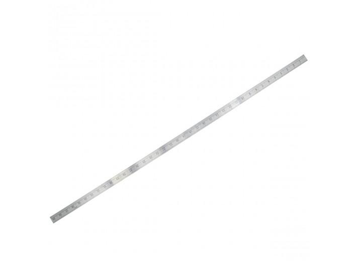 Метр металлический градация сантиметры/дюймы