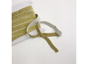 Лампасная резинка 20 мм Золото