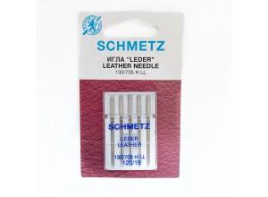 Иглы машинные SCHMETZ LEDER LEATHER (№ 120)