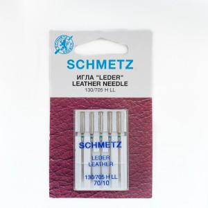 Иглы машинные SCHMETZ LEDER LEATHER (№ 70)