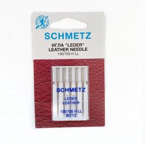Иглы машинные SCHMETZ LEDER LEATHER (№ 80)