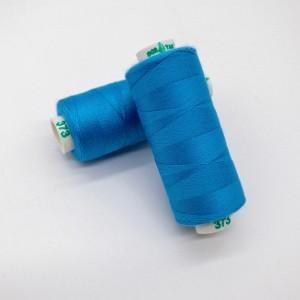 Нитки Dor Tak №373 Гавайский синий/Темно-бирюзовый