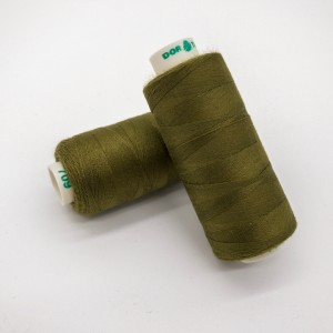 Нитки Dor Tak №709 Горчично-оливковый/Горная зелень/Защитный