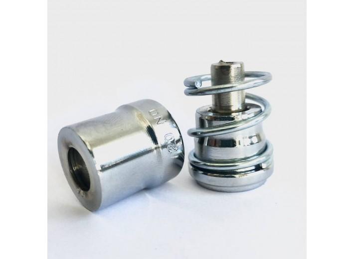 Насадка для обтяжки пуговиц D-1 и ТЕР-2 (с пружиной) 12 мм №20