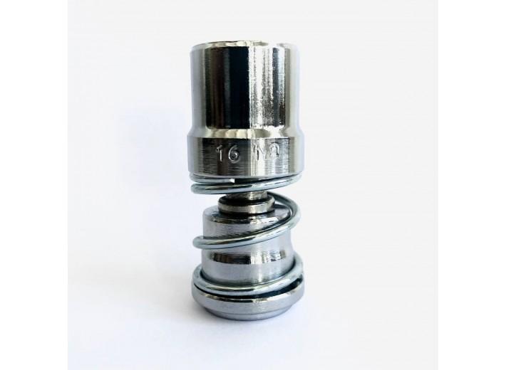 Насадка для обтяжки пуговиц D-1 и ТЕР-2 (с пружиной) 9 мм №16