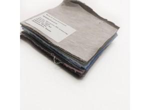 Образцы футер 3х нитка петля меланж 10х10 см