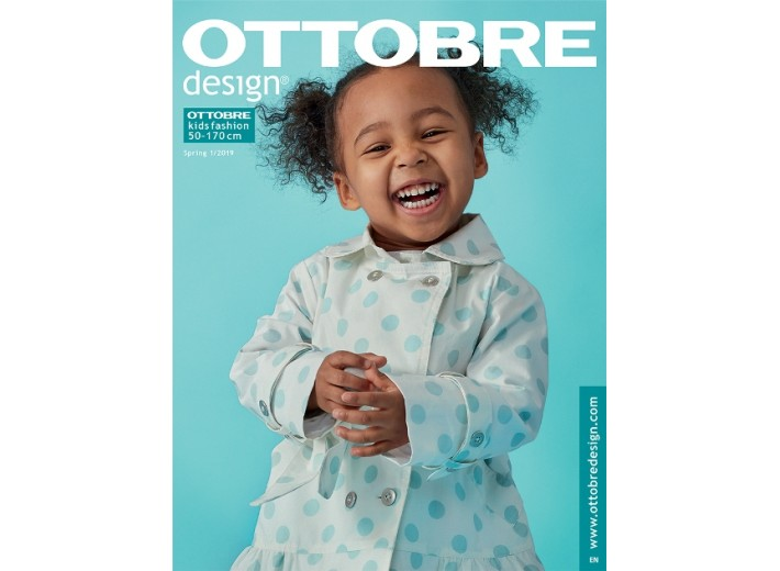 Журнал OTTOBRE kids fashion Весна 1/2019