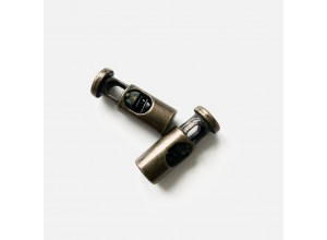 Стопор металл Цилиндр 22 мм Латунь