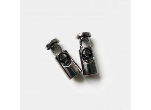 Стопор металл Цилиндр d=3,5мм, 20/8мм Черный никель