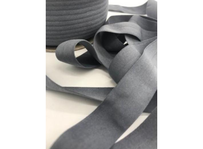 Резинка окантовочная матовая 20 мм Серый