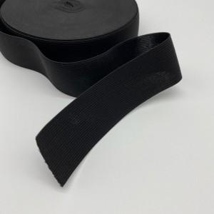 Резинка вязаная 40 мм Черный