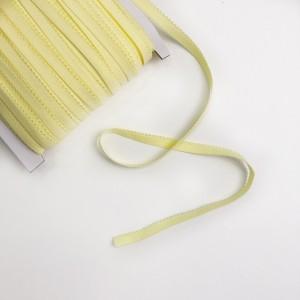 Резинка бельевая ажурная 10 мм Светло-желтый