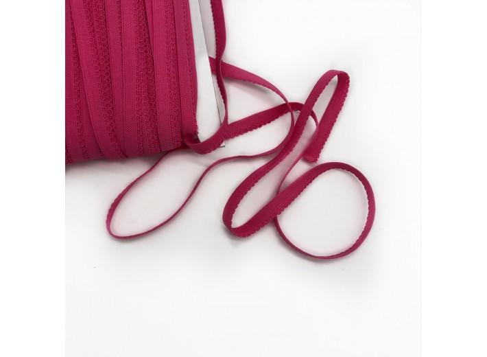 Резинка бельевая ажурная 10 мм Фуксия
