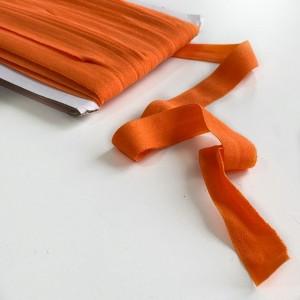 Резинка окантовочная 15 мм Апельсин
