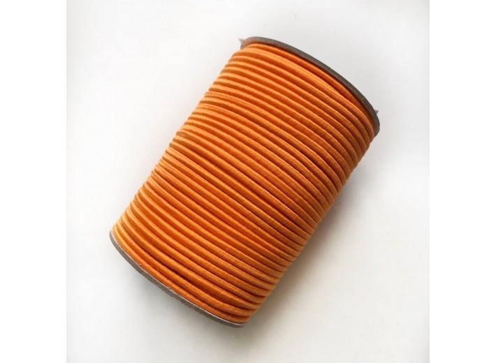 Резинка шляпная 3 мм Оранжевый