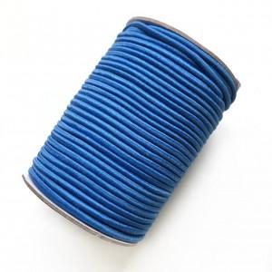 Резинка шляпная 3 мм Ярко-синий