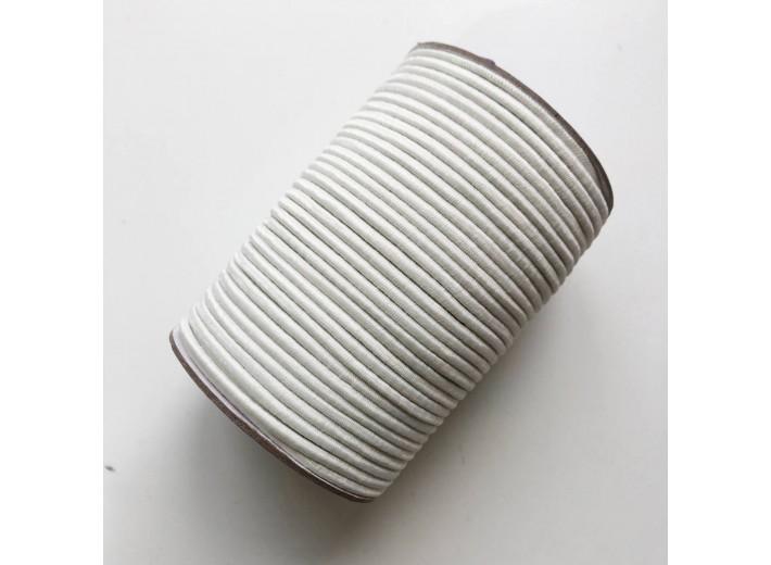 Резинка шляпная 3 мм Молочный