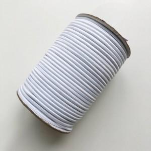 Резинка шляпная 3 мм Белый