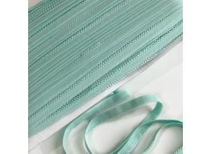 Резинка бельевая ажурная 10 мм Ментол