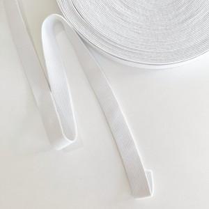 Резинка вязаная 20 мм Белый