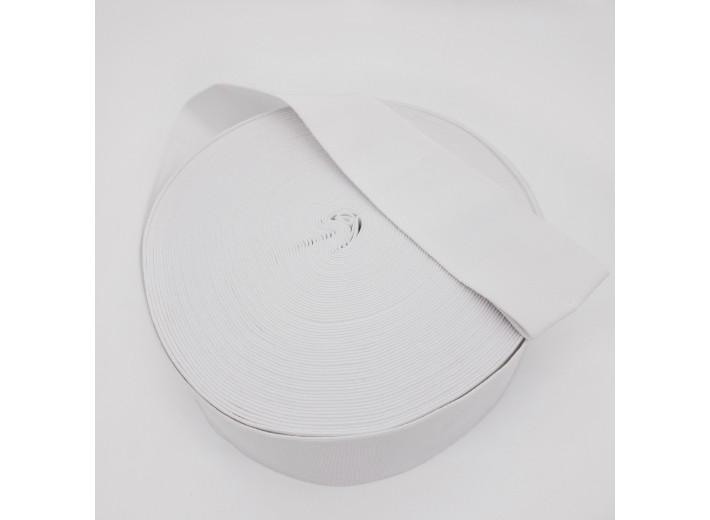 Резинка вязаная 60 мм Белый