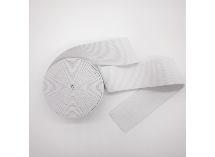 Резинка вязаная 50 мм Белый