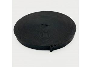 Резинка вязаная 30 мм Черный - упаковка 50м