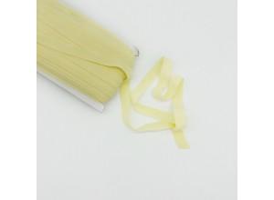 Резинка окантовочная 15 мм Светло-желтый