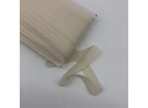 Резинка окантовочная 15 мм Молочный