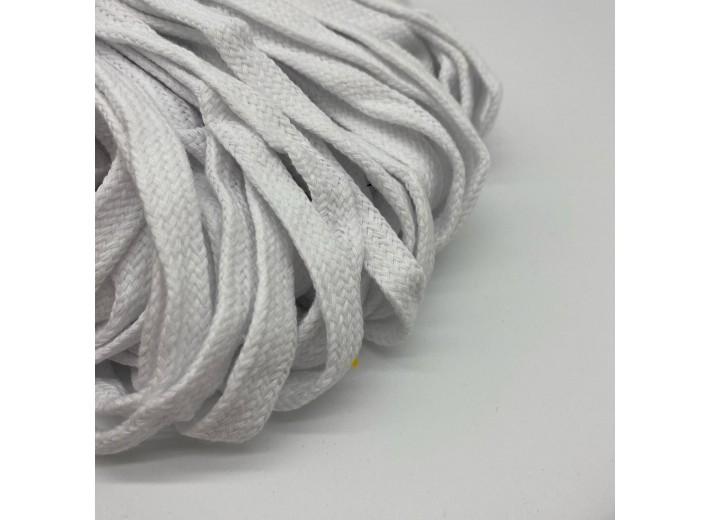 Шнур 12 мм Белый мягкий 100% х/б
