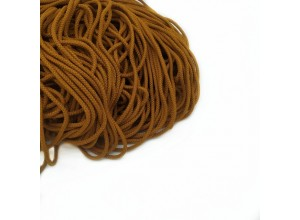 Шнур круглый Жженая карамель 5 мм
