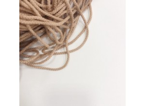 Шнур круглый Пудра 5 мм