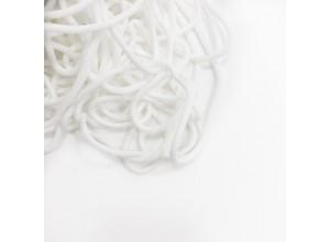 Шнур круглый Белый 5 мм мягкий