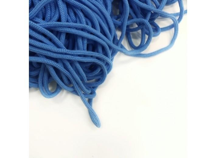Шнур круглый Голубой 5 мм мягкий