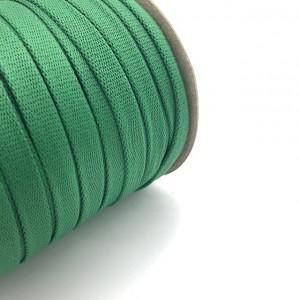 Шнур плоский 15 мм Зеленый