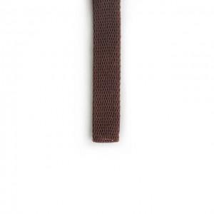 Шнур плоский 15 мм Шоколад
