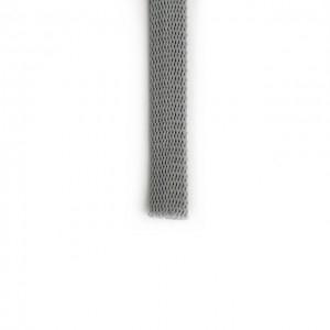 Шнур плоский 15 мм Серый