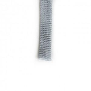 Шнур плоский 15 мм Светло-серый