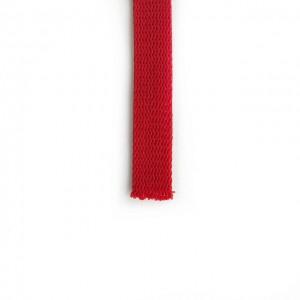 Шнур плоский 15 мм Красный