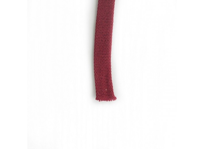 Шнур плоский 15 мм Бордо