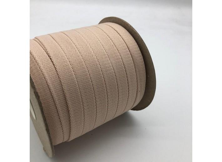 Шнур плоский 15 мм Кремовый