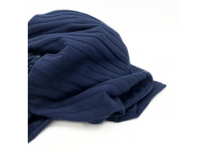 Трикотаж лапша Темно-синий (вискоза)
