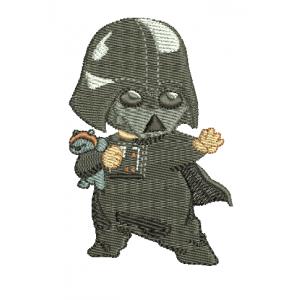 "Вышивка ""Baby Darth Vader"""