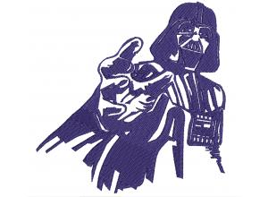 "Вышивка ""Darth Vader"""