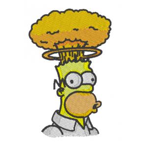 """Вышивка """"Гомер"""""""