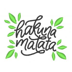 "Вышивка ""Hakuna matata"""