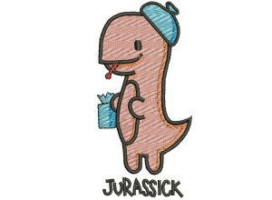 "Вышивка ""Jurassick"""