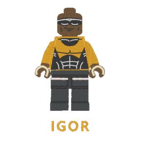 """Вышивка """"LEGO IGOR"""""""