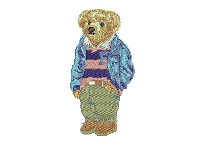 """Вышивка """"Bear"""""""
